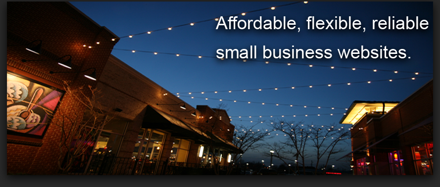 Affordable, flexible, reliable small business websites.